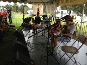 Kids play at Festivals Acadiens et Creoles